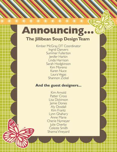 Design Team Announcement