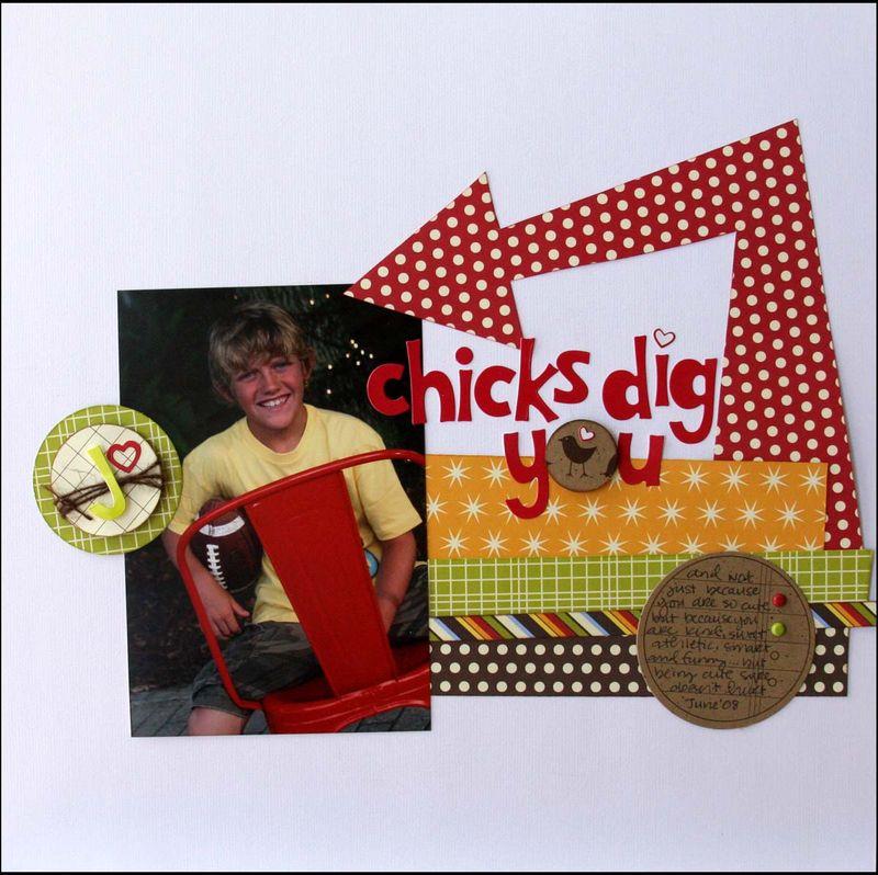 Chicks dig you2