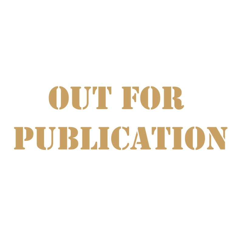 Out-for-publication
