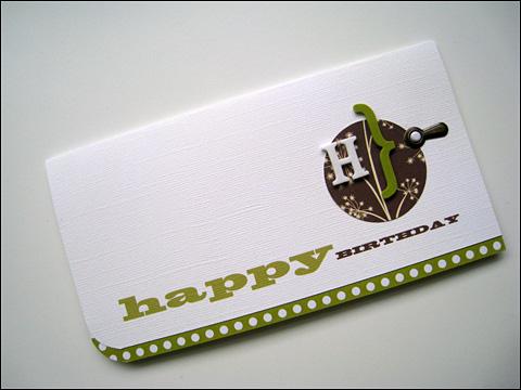 JILLIBEAN CARD - Happy Birthday