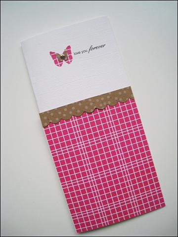 JILLIBEAN CARD - Love You Forever