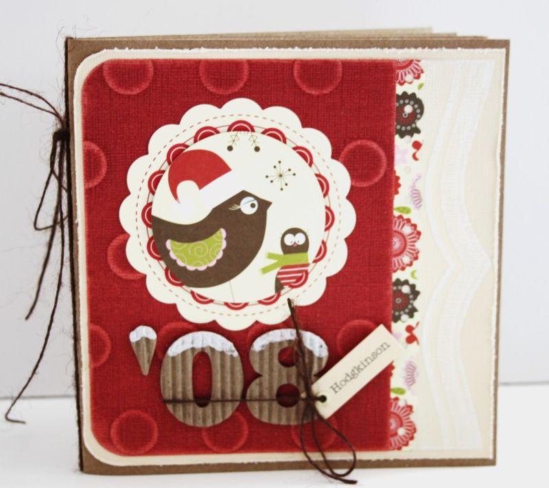 Christmas mini-album cover