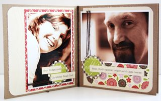 Christmas mini-album page 2-3