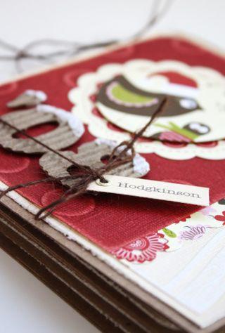 Christmas mini-album Sneak Peek