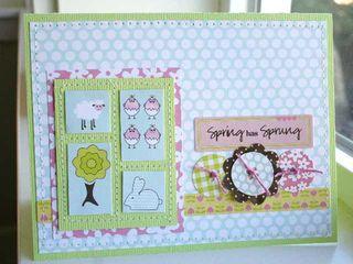 Card Spring has Sprung