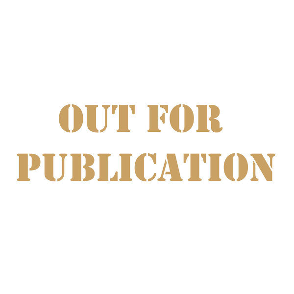 Out for publication