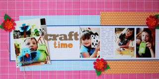 Layout-sarah Craft Time