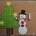 Card-karen JBS snowman card NOV