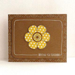 Card-Sending You Sunshine - CHA Winter 2010 Ingrid