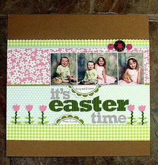 Layout-Jen's Easter LO