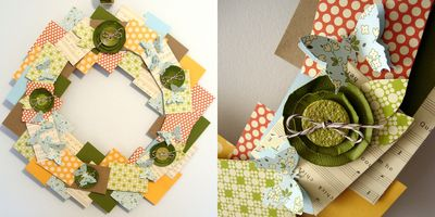 Project-aly spring wreath