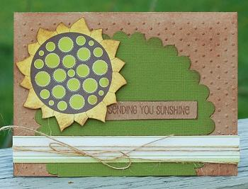 Card-karen JBS_April_Sunflower Card