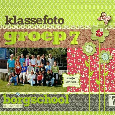 Klassefoto groep 7