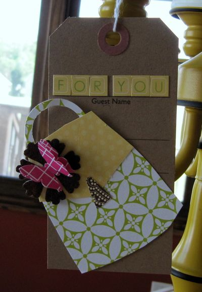 Card-Jen's For You Tag