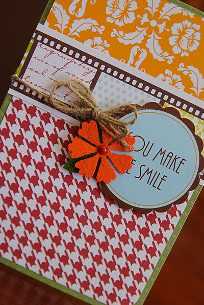 Card-kima you make me smile card (2 of 2)