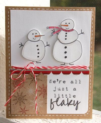 Jb-stamps snowmen card
