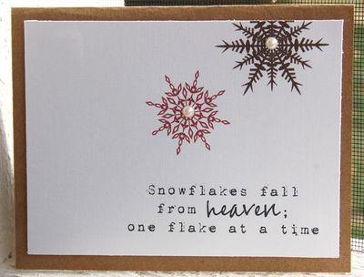 Jb-stamps snowflake card