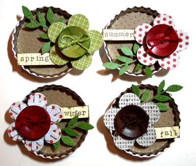 Project-sarah Seasonal Fridge Magnets small