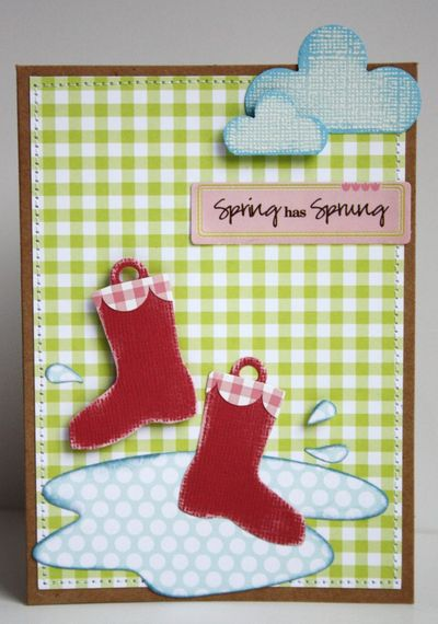 Card-sarah Spring has Sprung