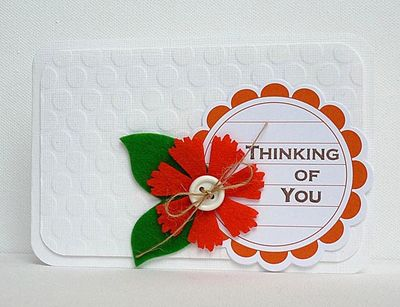 Card-Thinking of You - Ingrid Danvers