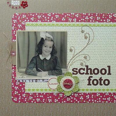 Layout-Schoolfoto - Ingrid Danvers