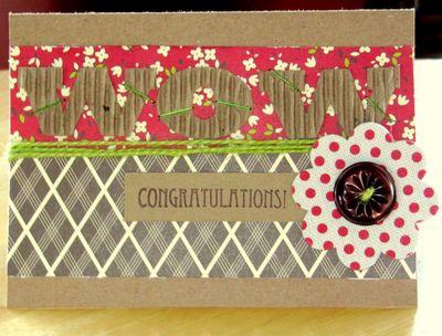 Card-Jen's Congrats Card