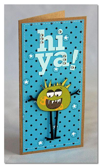 Card-summer hi-ya-card