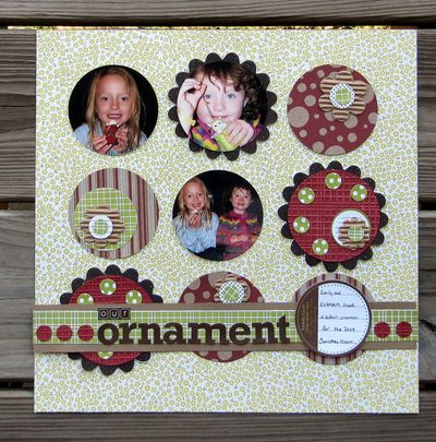 Layout-Jen's Ornament LO