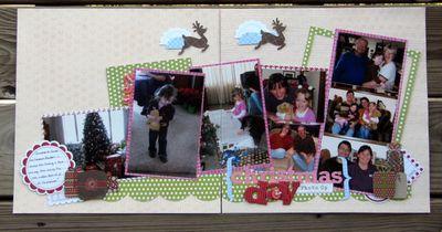 Layout-Jen's Christmas LO