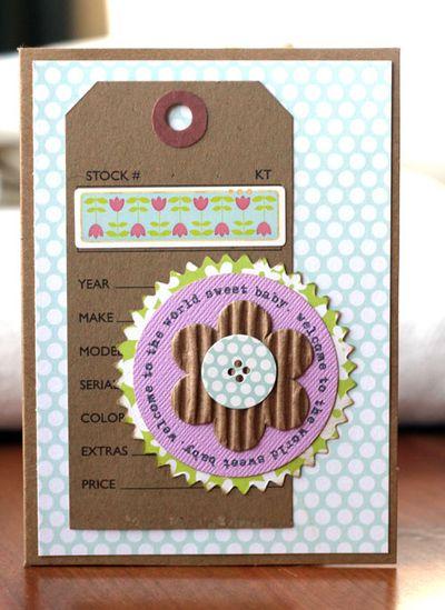 Card-paula sweetbaby