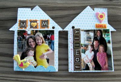 Project-Jen's House Album Layout P9