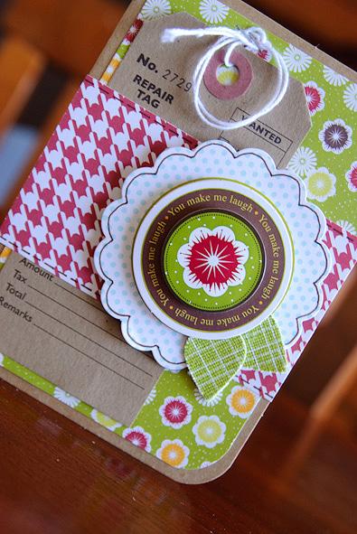 Card-kima you make me laugh (2 of 2)