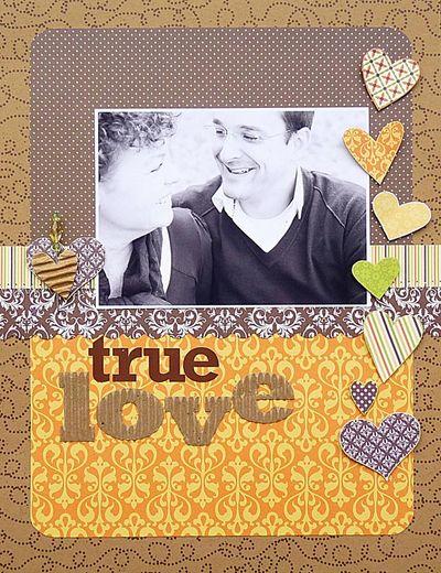 Layout-ingrid True Love