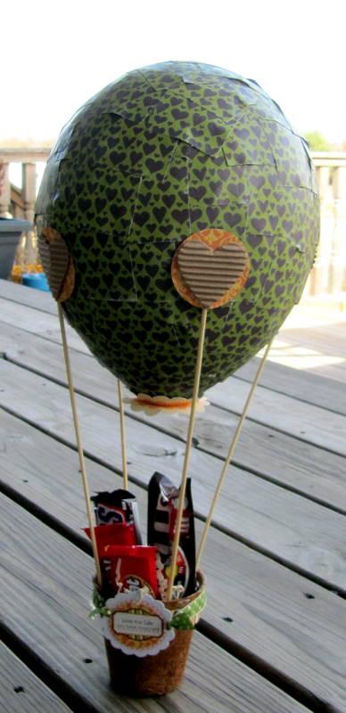 Project-Jen's Hot Air Balloon