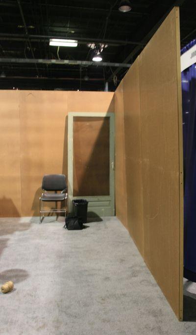 CHA Summer 2011_Bare Booth - walls