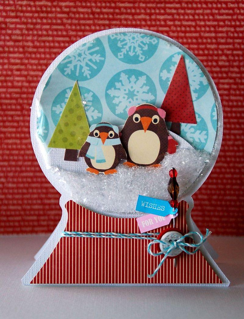 Card-Kimber-Snow Globe