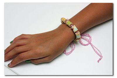 Project-Summer-Spool Bracelet