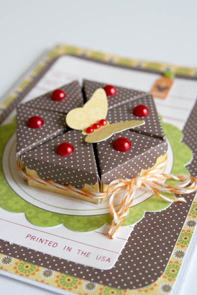 CHA Card-Carole-Birthday Cake CU