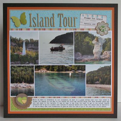 Layout-stephanie Island-Tour