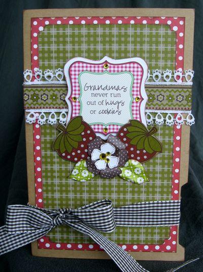Grandmas Hugs-n-Cookies Card - PFolchert