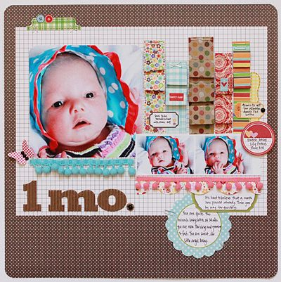 LO-Becky-1 Month Lilly