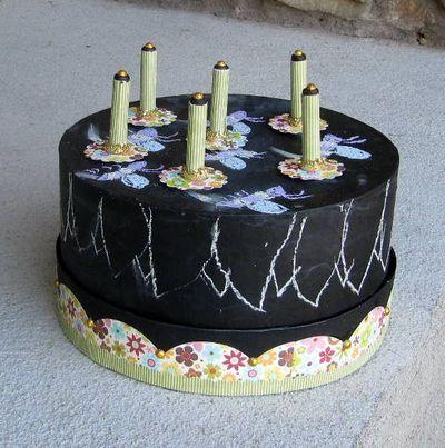 Project-Jen-Chalkboard Cake