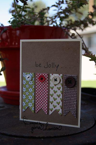 Card-Gina Hanson-Be Jolly