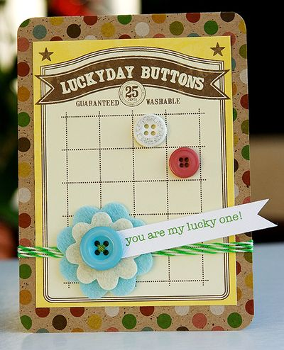 Card-Linda-You're My Lucky One!