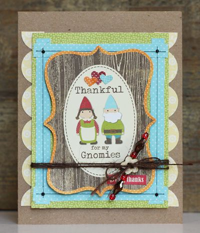 Card-Becky-Thankful for My Gnomies