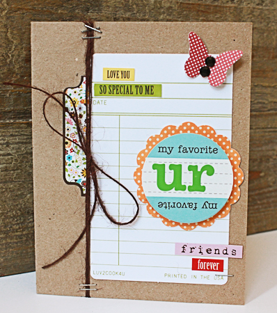 Card-Becky-UR My Favorite