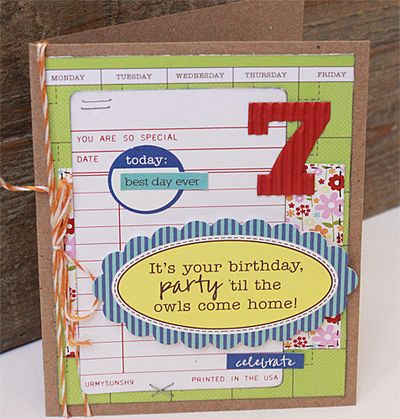 Card-Becky-Birthday Card