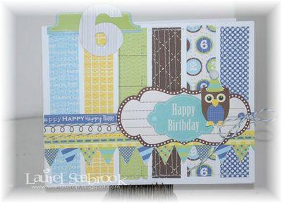 Card-Happy Birthday-Laurel Seabrook