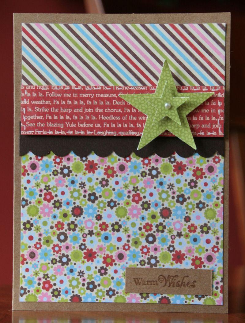 Make and Take-Warm Wishes Card