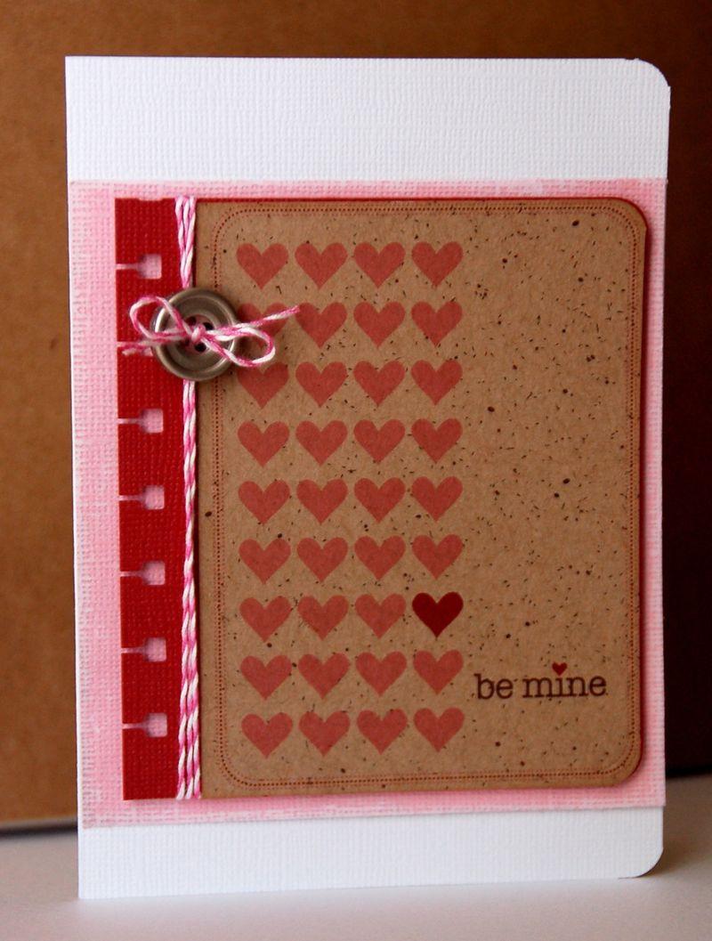 Card-Kimber-Be Mine